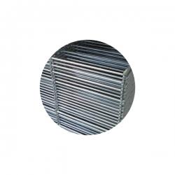 Plotový panel 2D 1230x2500 mm, průměr drátu 6/5/6 mm, pozinkovaný