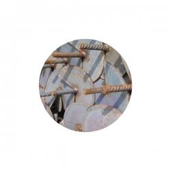 Kotva zavrtávací 850 mm, disk 120 mm, pozinkovaná