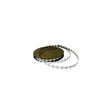 Žiletková páska pozinkovaná, 2 cm, návin 50 m