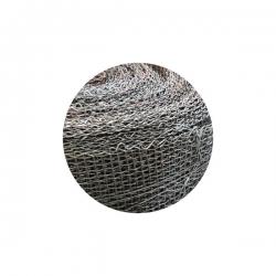 Kovová tkanina bez povrchové úpravy Fe, oko 4x4 mm