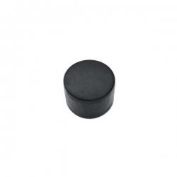 Čepička PVC černá, na kulatý sloupek 38 mm