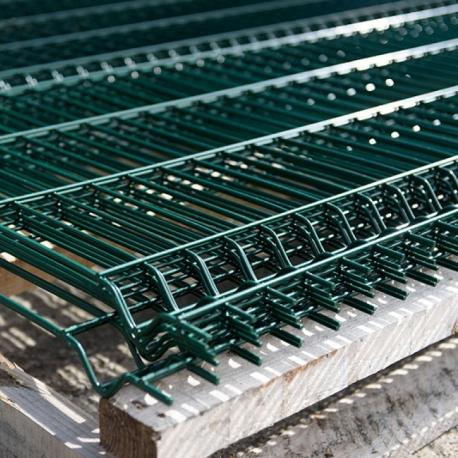 Plotový panel 3D 1600x2500 mm, poplastovaný, 2 profily, 5 mm