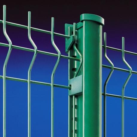 Plotový svařovaný panel light 1200x2500 mm, poplastovaný, 2 profily