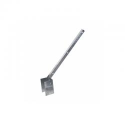 Bavolet pozinkovaný na hranatý sloupek 60x40 mm
