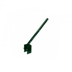 Bavolet poplastovaný na hranatý sloupek 60x40 mm