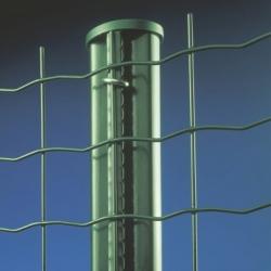 Sloupek s profilem pro svařovaná pletiva, 250 cm, 48 mm