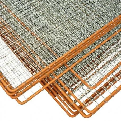 Plotový rám se žebírkovým výpletem 1000x2000 mm, oko 50x50 mm