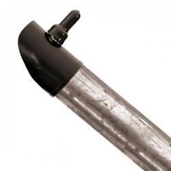 Plotová vzpěra pozinkovaná 38 mm, výška 280 cm