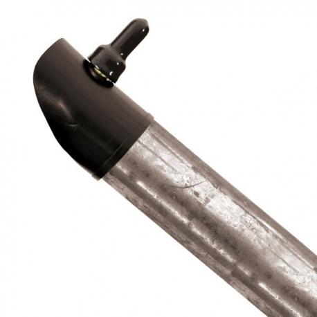 Boční vzpěra pozinkovaná 38 mm, výška 200 cm