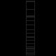 Farmářské pletivo 2,50/3,00 mm, výška 200 cm, 18 drátů