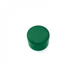 Čepička PVC zelená, na kulatý sloupek 60 mm