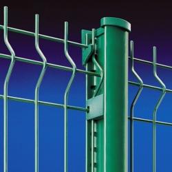 Plotový svařovaný panel light 1230x2500 mm, poplastovaný, 4 profily