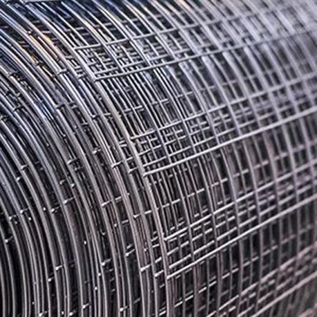 Svařované čtyřhranné pozinkované pletivo 6x6, průměr drátu 0,6 mm