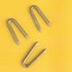 Skoby pozinkované (telegrafické svorky) Zn, průměr 3,10 mm